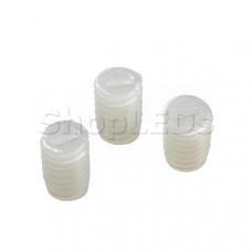 Винт TOP-M4x6 (PVC, белый)