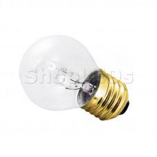 Лампа накаливания e27 10 Вт прозрачная колба