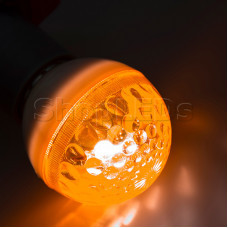 Лампа строб e27 ∅50мм оранжевая