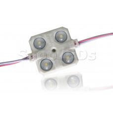 Светодиодный модуль герметичный SL-2835-4 LED (200-210Lm, 2W, 12V)