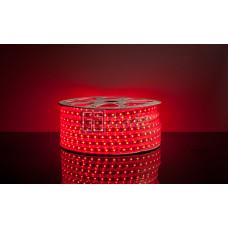 Герметичная светодиодная лента SMD 5050 60led/m 220V IP67 Red