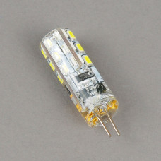 G4-220V-3W-6400K Лампа LED (силикон)