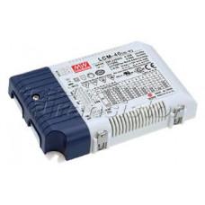 Блок питания LCM-40 (40W, 350-1050mA, 0-10V, PFC)